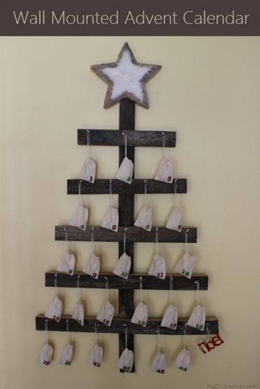 Wall Mounted Advent Calendar