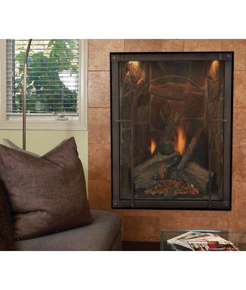 FOREST HILLS PORTRAIT-STYLE TRADITIONAL DIRECT-VENT FIREPLACE
