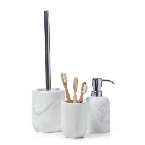 Round Marble Bathroom Accessories