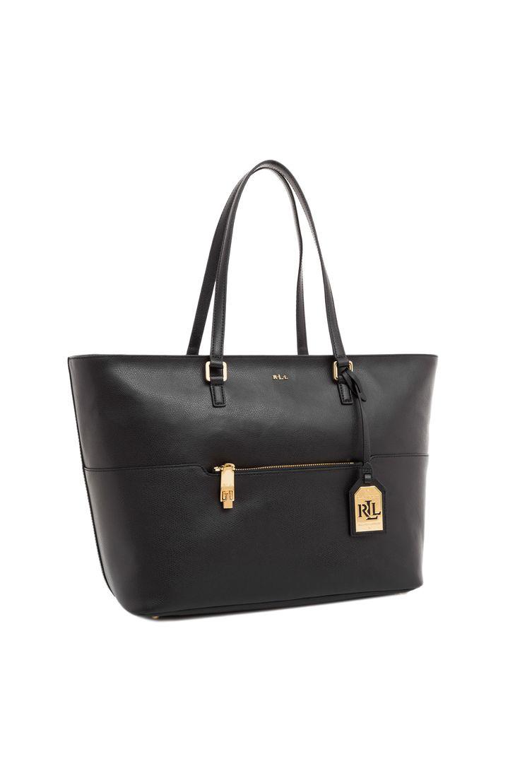 Shopperka WHITBY Lauren Ralph Lauren czarny