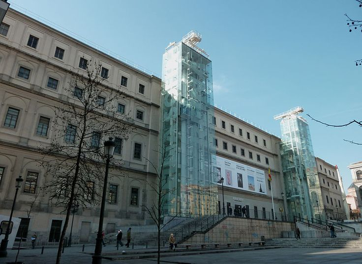 #monogramsvacation - Queen Sofia Arts Center (Museo Nacional Centro de Arte Reina Sofia), Madrid, Spain