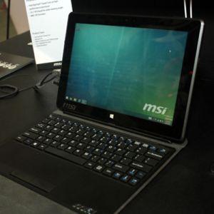 MSI S100, Tablet 10 Inch dengan Prosesor Intel dan Baterai yang Besar