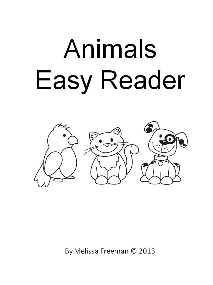 FREE!  A 16 page easy reader. Students can read, colour and enjoy! Introduces some sight words: see, the, here.