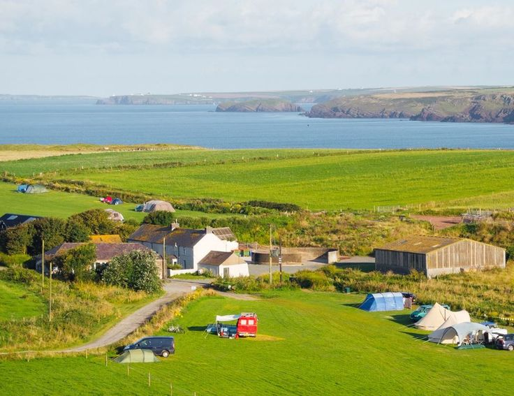 Gupton Farm, Castlemartin, Pembroke, Pembrokeshire. Wales. UK. Camping. Caravanning. Travel. Holiday. Coastal. Family Friendly. Seaside. Surfing. National Trust.