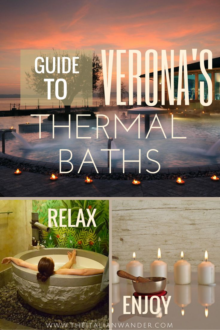 A guide to Verona's thermal baths. Discover all the addresses and activities for a relaxing holiday in Verona.