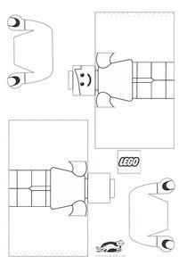 KROKOTAK PRINT! | printables for kids   LEGO BOY