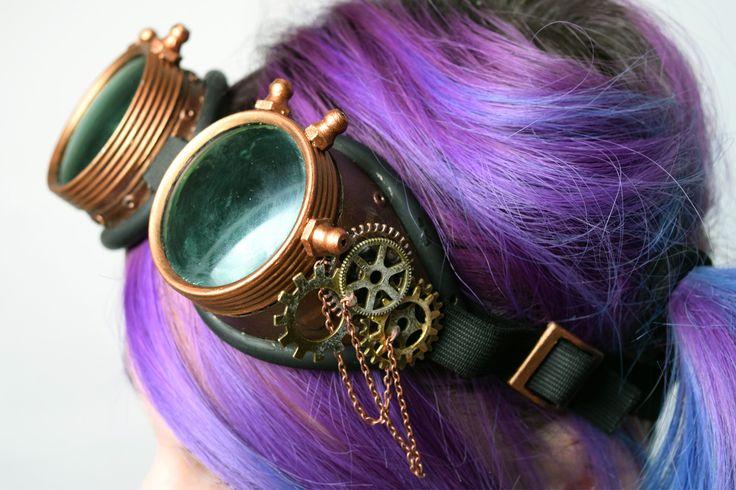 DIY aux couleurs de l'automne : Des lunettes Steampunk ! ~ Darkrevette