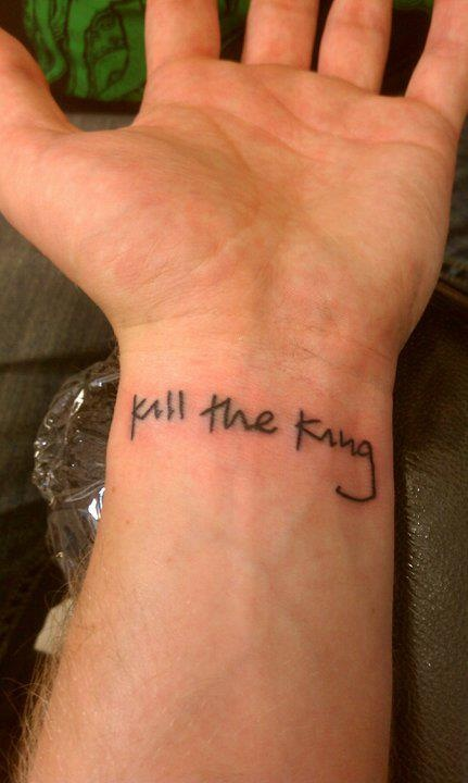 I woke up without clothes or a memory to signify who I was or where I came from. The only clue I had was a small tattoo on my wrist, I couldn't read it, but somehow I knew exactly what was expected of me. I was to kill the king...