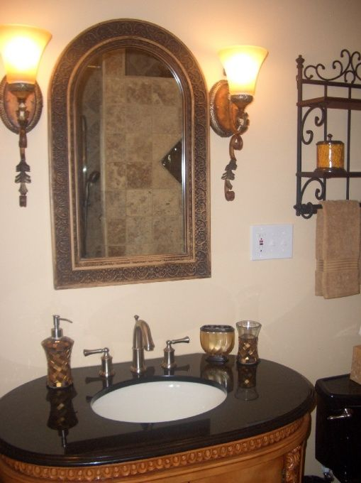 1000 Images About Tuscan Bathroom Lighting On Pinterest