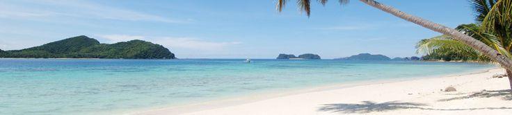Pangulasian Island in the Philippines