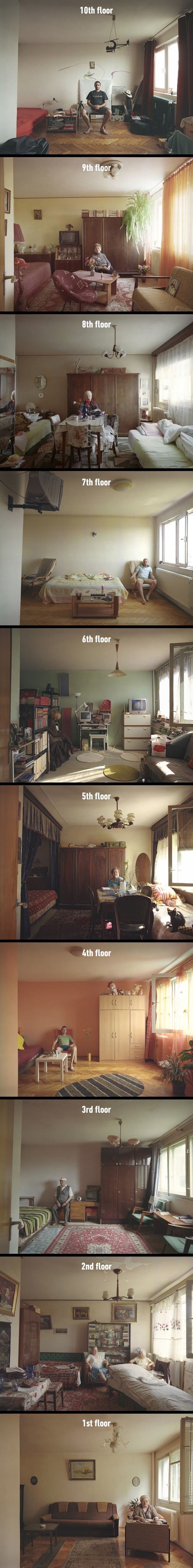 These Fascinating Photographs Show You How Different People Live In Identical Apartments (By Bogdan Gîrbovan)