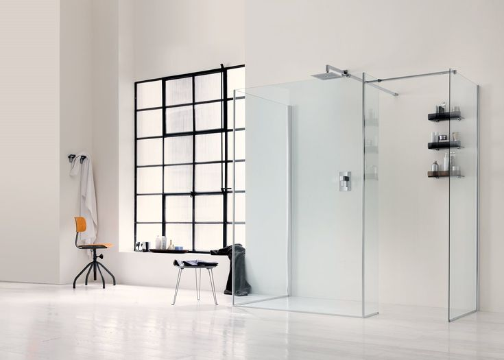 Glass Shower Wall Panel WALK IN 6mm   1 Walk In 6mm Collection By INDA®