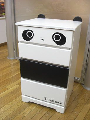 Probably one of the most adorable dresser I've ever seen, with Tarepanda as the character inspiration.