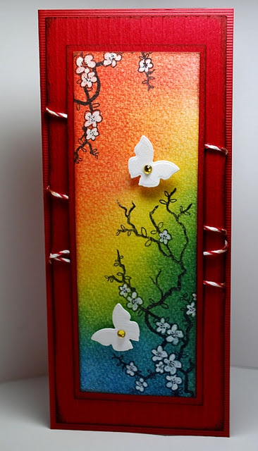 luv the vivid colors and Japanese design