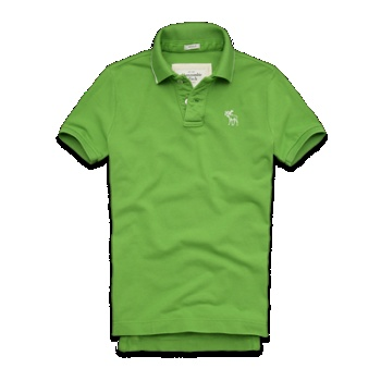 Morgan Mountain Polo in Green at Abercrombie & Fitch