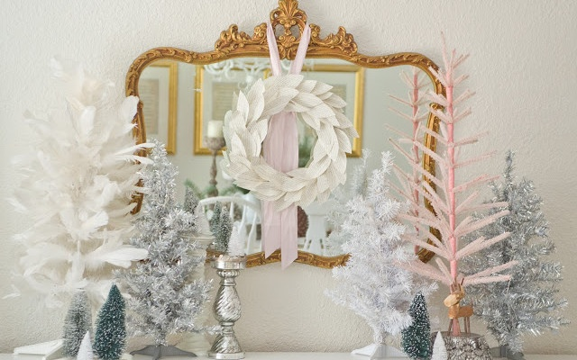 White,+Pink,+and+Neutral+Christmas
