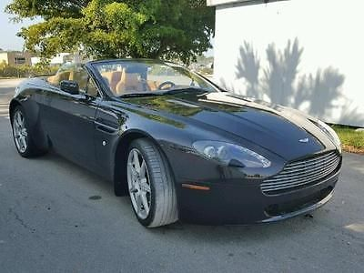2008 Aston Martin Vantage convertible 2008 Aston Martin Vantage Convertible For Sale Cheaps Minor Scratches