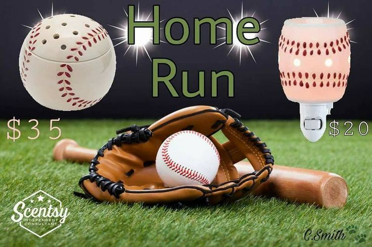 Scentsy's Home Run warmer now available in a mini!  Find me on Facebook, Tracy Todaro Independent Scentsy Consultant and browse at:  https://tracytodaro.scentsy.us
