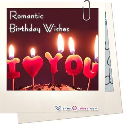 Romantic Birthday Wishes with Images