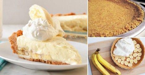 Sencillo+y+cremoso+cheesecake+de+banana