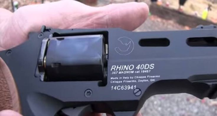 Is the Chiappa Rhino .357 Magnum Ugly? [VIDEO]Loading that magazine is a pain! Get your Magazine speedloader today! http://www.amazon.com/shops/raeind