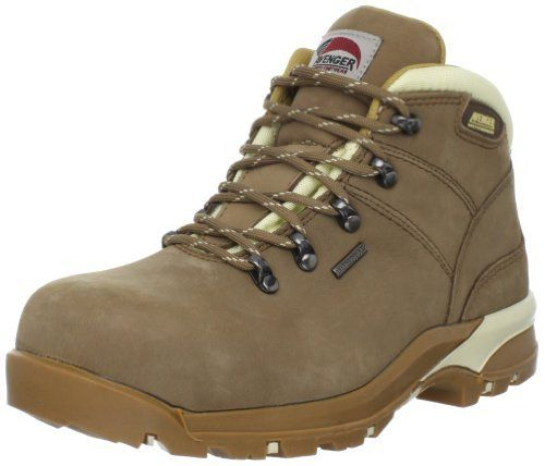 """Avenger Safety Footwear Women's Hiker Boot Avenger Safety Footwear. $94.95. Shaft measures approximately 4.5"""" from arch. Manmade sole. leather. Heel measures approximately 1.5"""""""