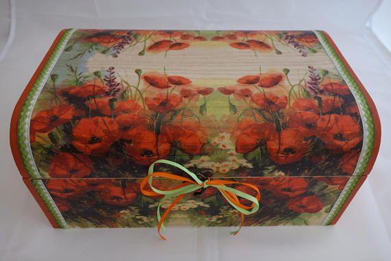 Poppys treasure chest box