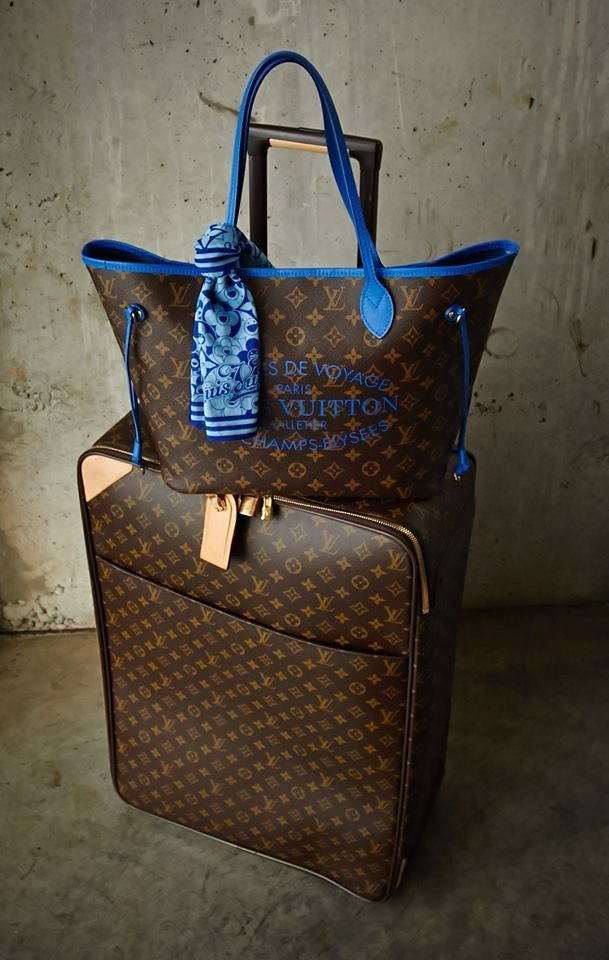 2/24/16 - I thought some new Louis Vuitton luggage would make a nice gift for you dear lady. Love - Karm
