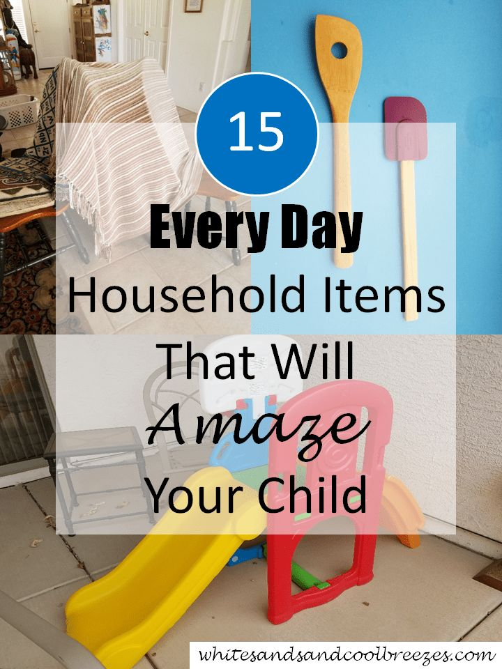 Have youever bought a toy for your baby/ toddler? Why not check out these 15 every day household items that will amaze your child, and you already own! #toddler #toys #homemade
