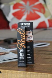 Benefit Cosmetics They're Real! Mascara | BeautyChaos.com #benefitcosmetics #mascara #volumizingmascara