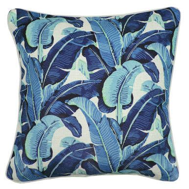 Outdoor Caribbean Lagoon Cushion by Escape to Paradise | FRANKIE + COCO