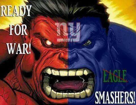 Nygiants 4life Nyg 4days4war Hulk Comic Red