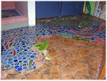 Decorative Ceramic Tile Hand Made Shower Tiles For Custom