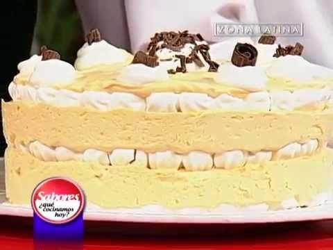 Ingredientes de la Torta de Merengue y Lúcuma:  Sabores ¿Qué cocinamos hoy? // Zona Latina - YouTube