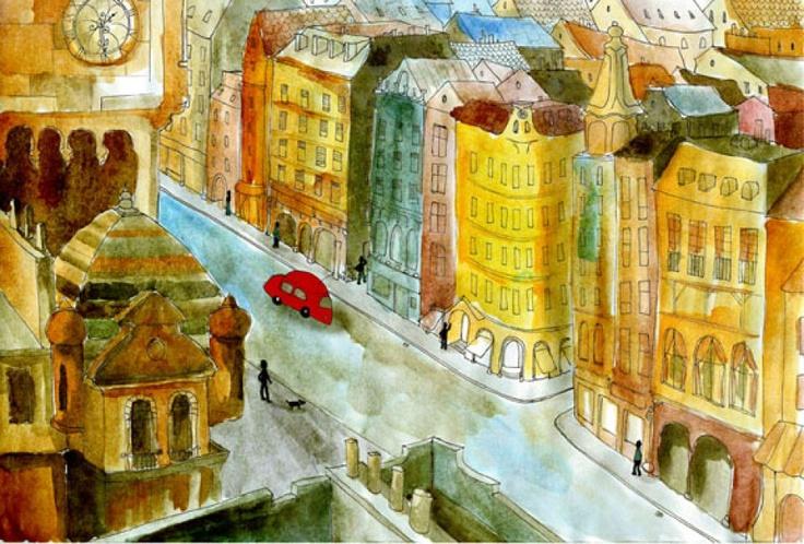 Down the street by http://www.breslo.hu/fanyuvaszto
