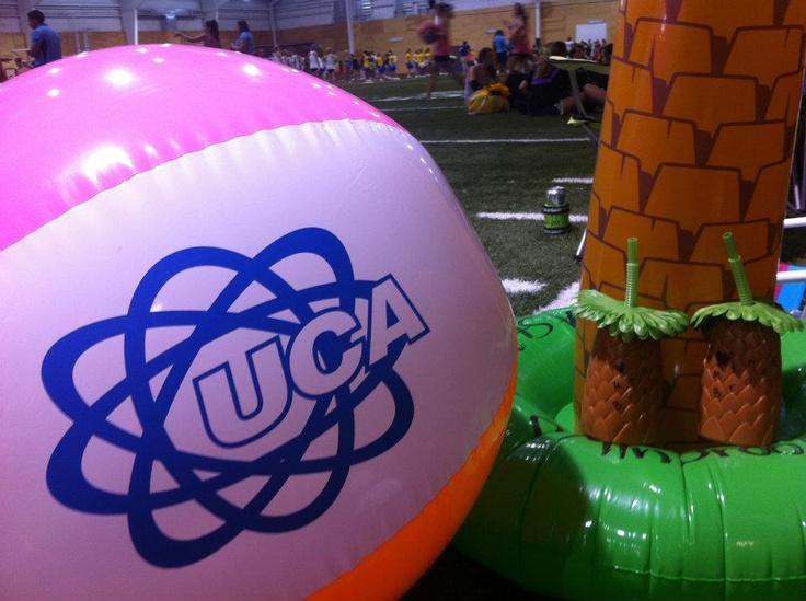 UCA cheer camp- Summer Splash! #cheerleading