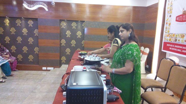 Prestige Bandhan, a multi-cuisine cookery show - held at Prestige Smart Kitchen store, Jamnagar.