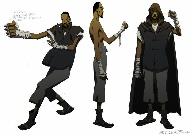 Man with the Iron Fist- unused RZA design by *ChaseConley