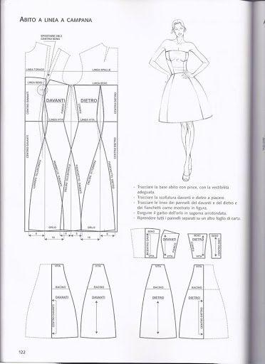 Dress pattern draft