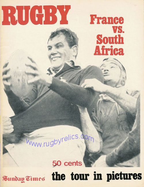 francevsa.jpg (500×648)  FRANCE VS A SOUTH AFRICAN XV 1978