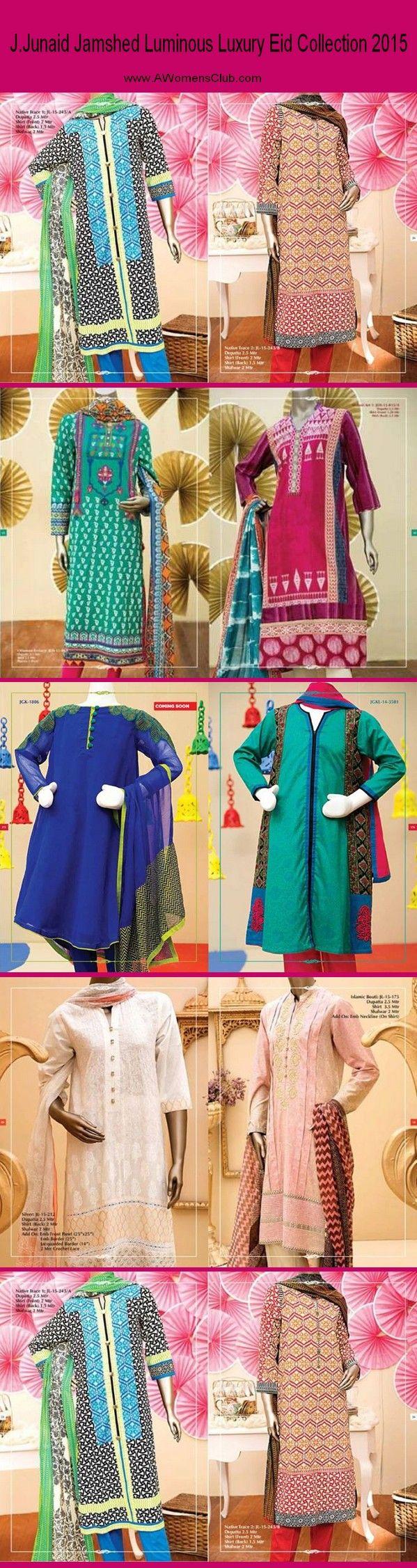 J.Junaid Jamshed Luminous Luxury Eid Collection 2015