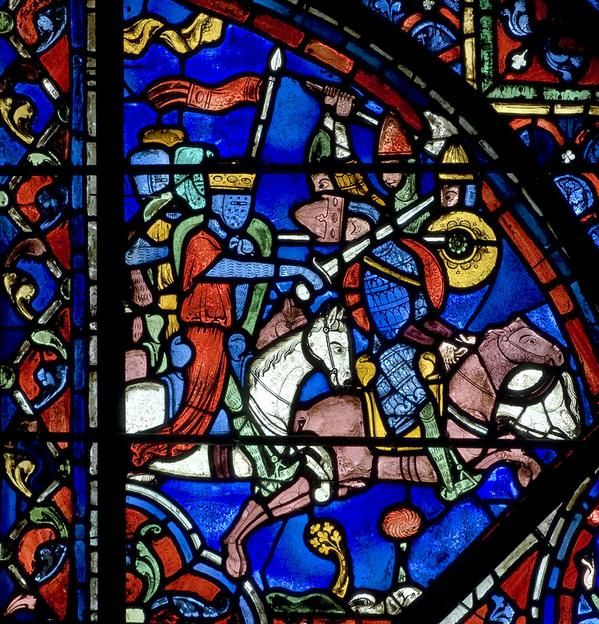 Friends Of Chartres On Medieval Stained GlassStained
