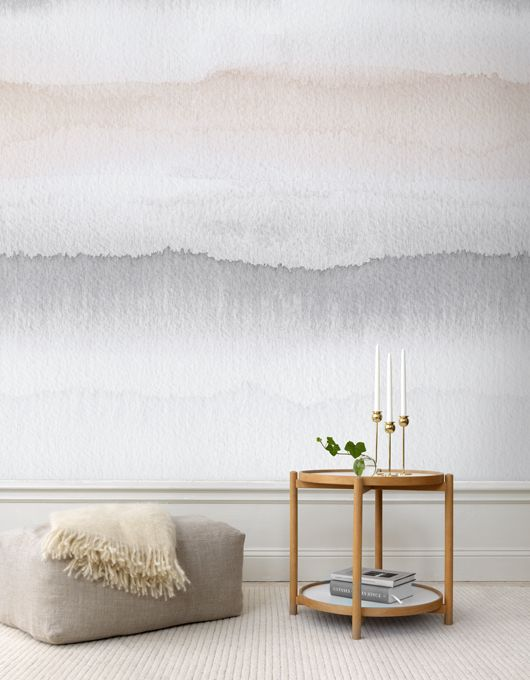 "I just can't get enough of this watercolor wall!! It's like actually ""living"" in a painting! W.O.W."