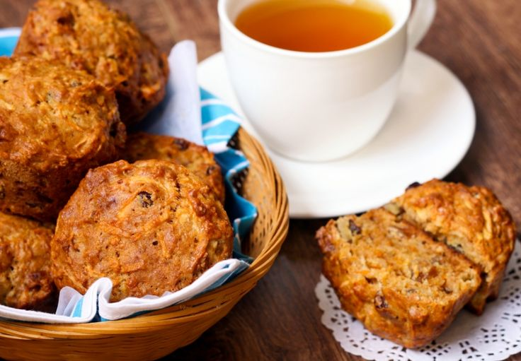 Mrkvové muffiny