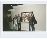 Mark Mullin and Chris Flodberg at his namesake Exhibition Premiere at Masters Gallery Mar 9 @Calgary 2012 . #sceneyyc