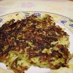 Rosti di patate e zucchine