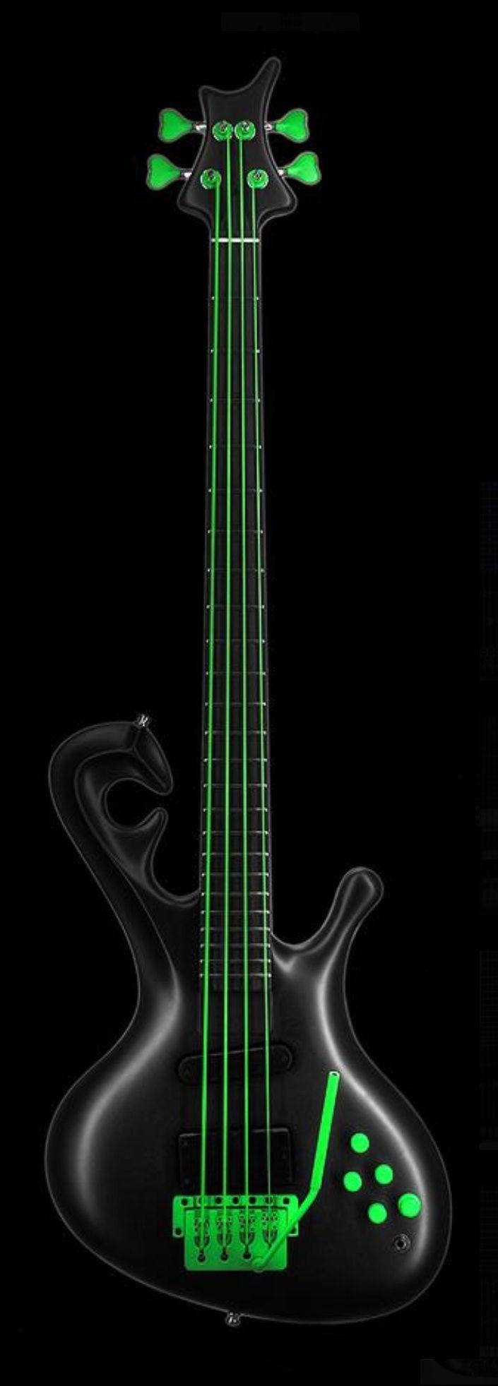 Jens Ritter Okon Neon Green - Bass Guitar