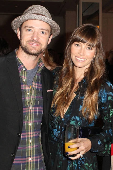 In 2012: Jessica Biel and Justin Timberlake tied the knot