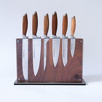 Schmidt Brothers Cutlery® Bonded Teak Series 7 Pc. Starter Set - Kitchen - Home - Bloomingdale's
