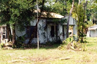 "deserted places in florida The contraband was supposedly hidden in compartments built into the floors of the animal cages say hello to my leetle friend, tony montana the tiger abandoned homestead florida ufo house ""my friend lived down a dirt road from this place,"" relates someone who visited the ufo house around 1979."